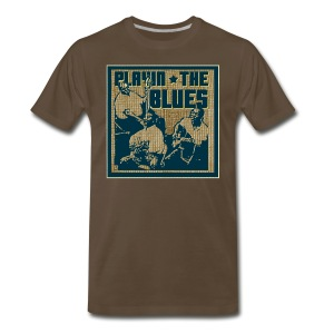 Playin' the blues - Men's Premium T-Shirt