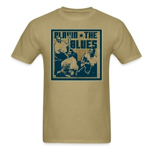 Playin' the blues - Men's T-Shirt