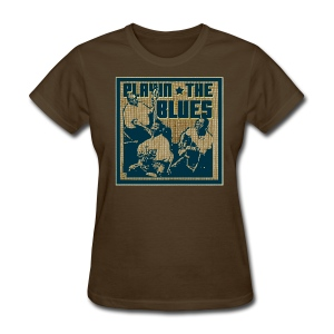 Playin' the blues - Women's T-Shirt