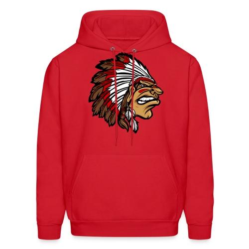 Aztec face hoodie - Men's Hoodie