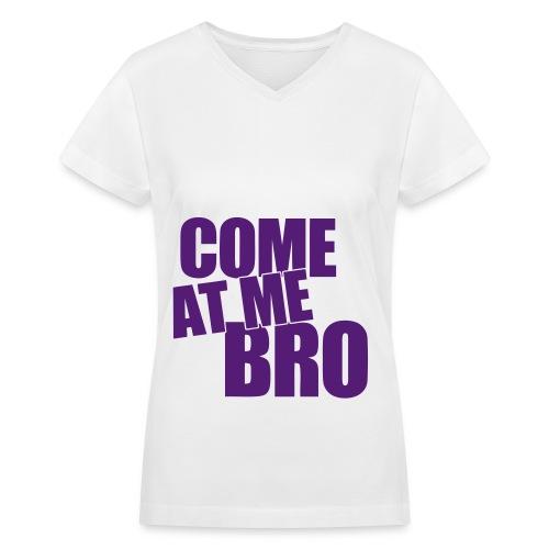 Woman's Tee-Shirt   - Women's V-Neck T-Shirt