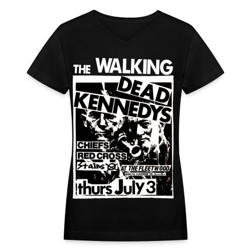 TWDKJ8 - Women's V-Neck T-Shirt