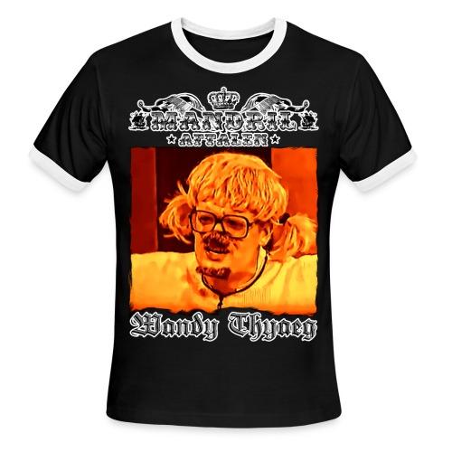 Mandril W Thyaeg - Men's Ringer T-Shirt