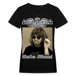 Mandril R Skimmel - Women's V-Neck T-Shirt