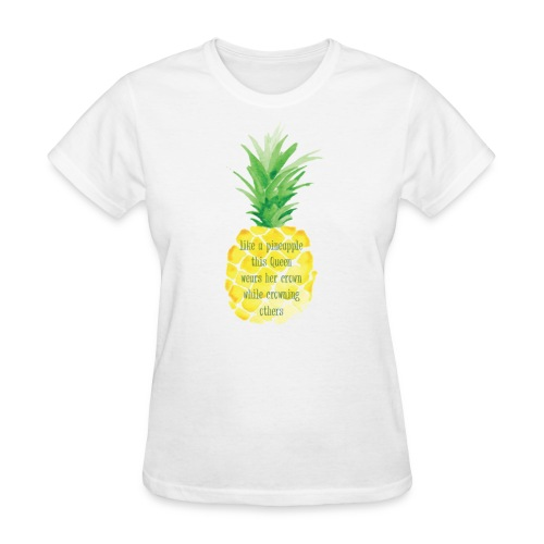 Pineapple Women Empowerment T-Shirt - Women's T-Shirt