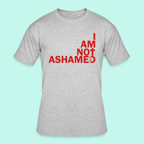 Not Ashamed - Men's 50/50 T - Men's 50/50 T-Shirt