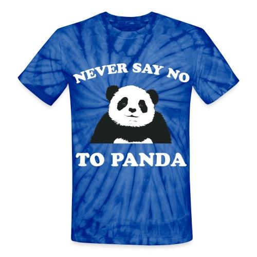 Respect The Panda - Unisex Tie Dye T-Shirt