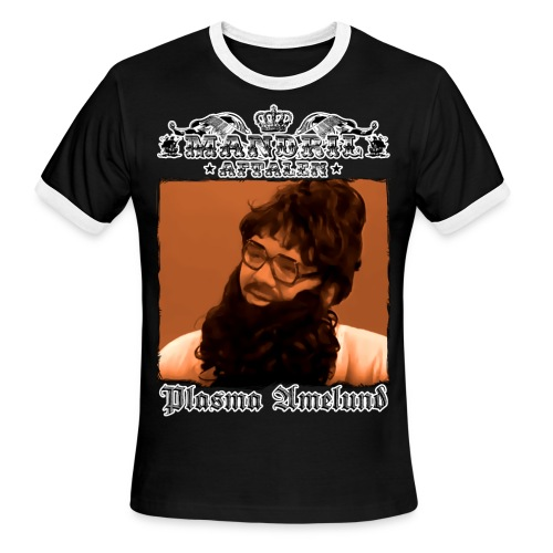 Mandril Plasma Amelund - Men's Ringer T-Shirt