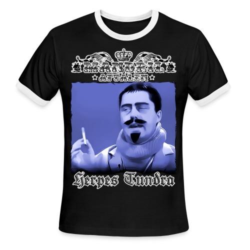Mandril Herpes Tundra - Men's Ringer T-Shirt