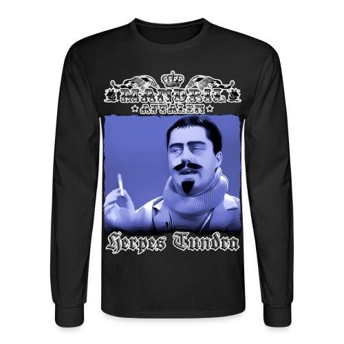 Mandril Herpes Tundra - Men's Long Sleeve T-Shirt