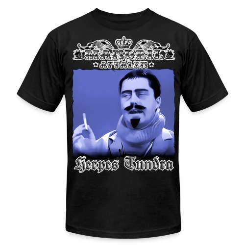 Mandril Herpes Tundra - Men's Fine Jersey T-Shirt