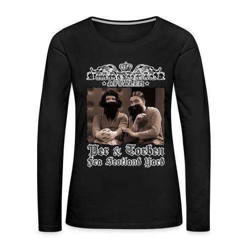 Mandril Per Torben - Women's Premium Long Sleeve T-Shirt
