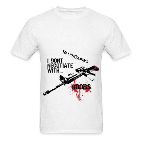 I Don't Negotiate with N00BS Mens - Men's T-Shirt