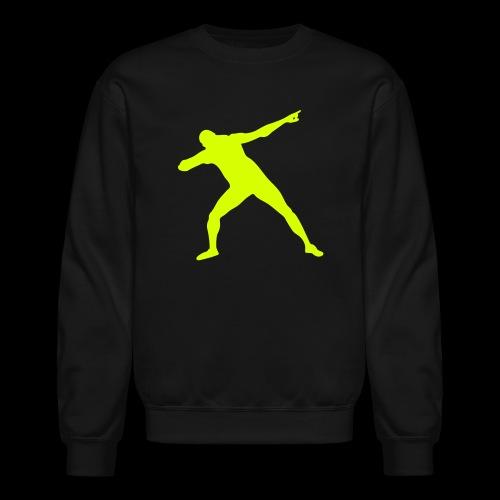 Usain Bolt Silhouette - Crewneck Sweatshirt