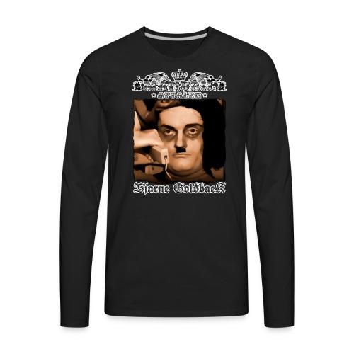 Mandril Bjarne Goldbaek - Men's Premium Long Sleeve T-Shirt
