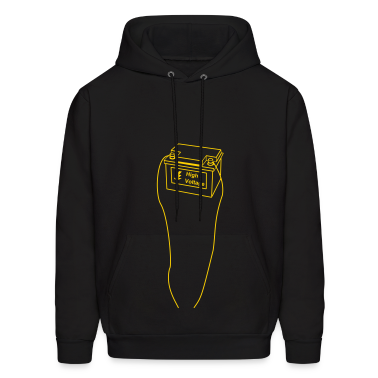 battery, high voltage, low current, high voltage, power, electricity, penis, cock, Member Hoodies