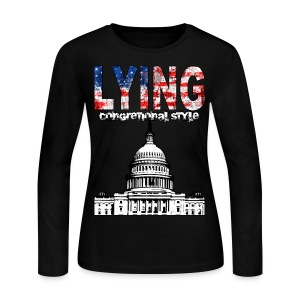 Lying Congressional Style - Women's Long Sleeve Jersey T-Shirt