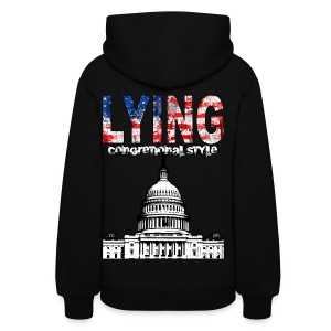 Lying Congressional Style - Women's Hoodie