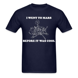 Hipster Martian - Men's T-Shirt