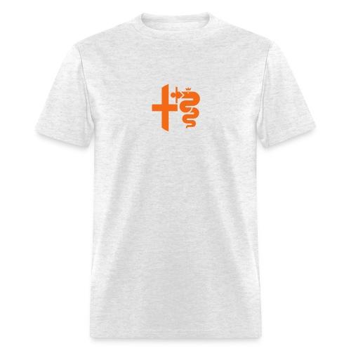 1971 Retro Future (Orange) - Men's T-Shirt