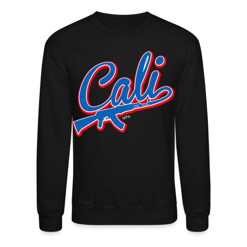 Cali ··· Blk - Crewneck Sweatshirt