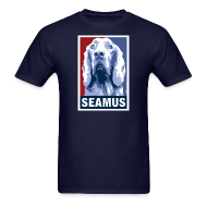T-Shirts ~ Men's T-Shirt ~ Dogs Against Romney Limited Edition SEAMUS by DEVO's Gerald Casale