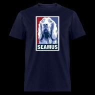 T-Shirts ~ Men's T-Shirt ~ Dogs Against Romney Limited Edition SEAMUS by DEVO's Gerald Casale