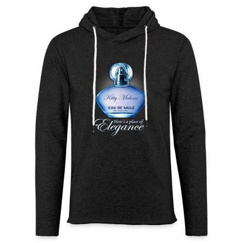 Scent of a Mule Lightweight Terry Hoodie - Unisex Lightweight Terry Hoodie
