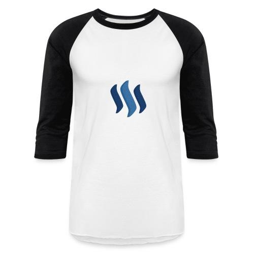 Steem Shirt - Woman - Baseball T-Shirt