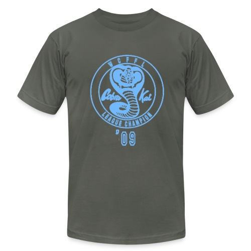 Cobra Kai sky blue - Men's Fine Jersey T-Shirt