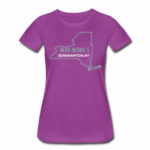 Mad Monks women's NY State T - Women's Premium T-Shirt