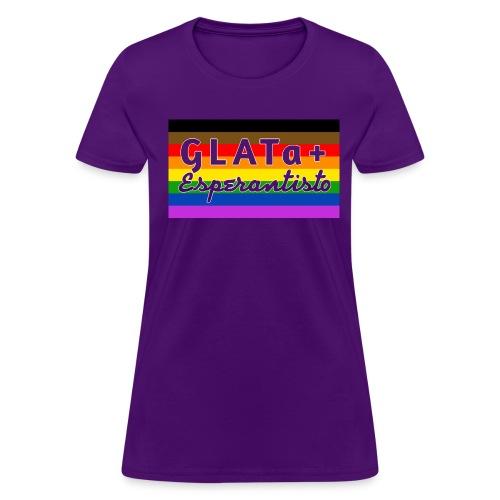 GLATa+ Esperantisto v2.0 (Feminine) - Women's T-Shirt
