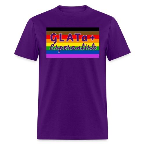 GLATa+ Esperantisto v2.0 (Masculine) - Men's T-Shirt