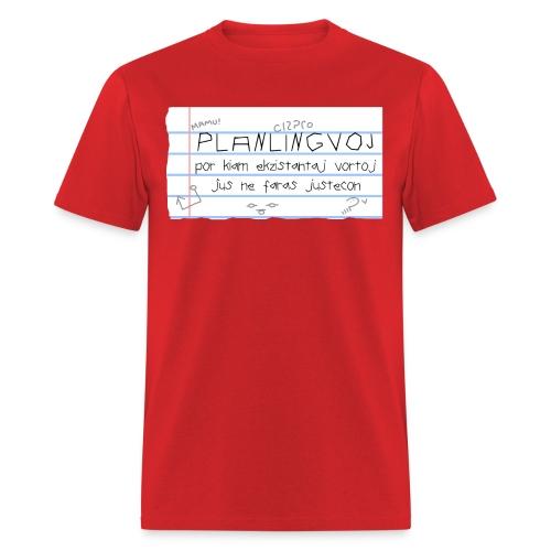 Planlingvoj (Maculine) - Men's T-Shirt