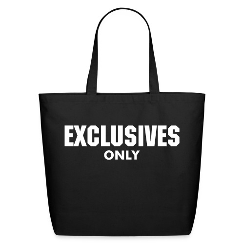 Exclusives Only Shopping Bag - Eco-Friendly Cotton Tote