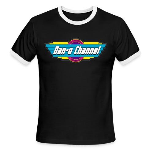 Dan-O Channel Micromachin - Men's Ringer T-Shirt