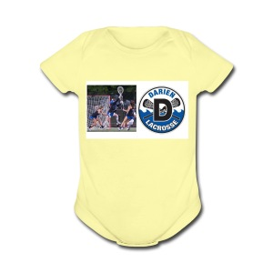 GIRLS LAX DHS - Short Sleeve Baby Bodysuit