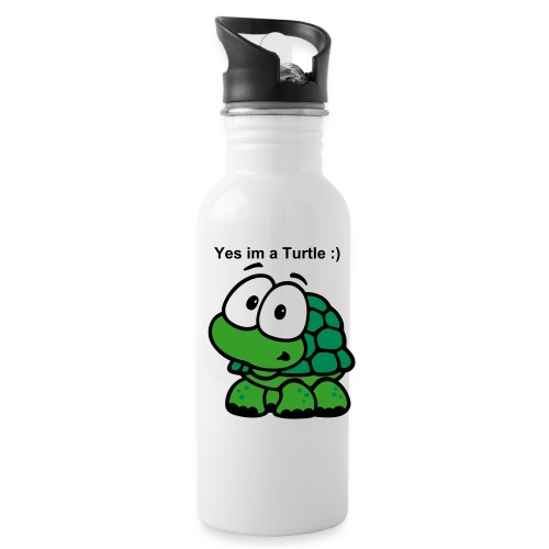 Turtle & Save the World - Water Bottle
