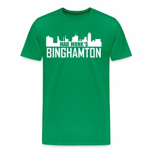 Mad Monk's Binghamton Skyline T - Men's Premium T-Shirt