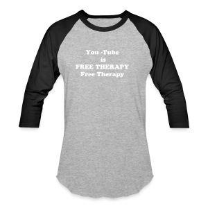 Free therapy  - Baseball T-Shirt