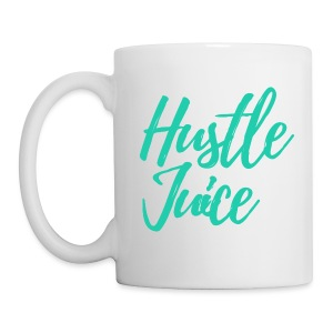 Hustle Juice Mug - White - Coffee/Tea Mug