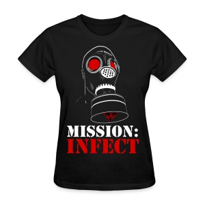 MISSION INFECT SOLDIER HONEYS SHIRT - Women's T-Shirt