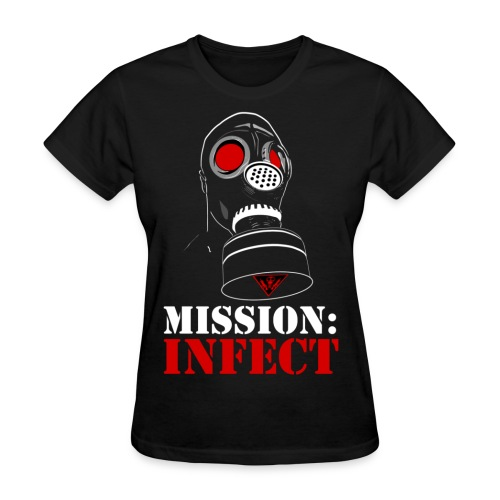 MISSION INFECT SOLDIER HONEYS SHIRT - Women's T-Shirt