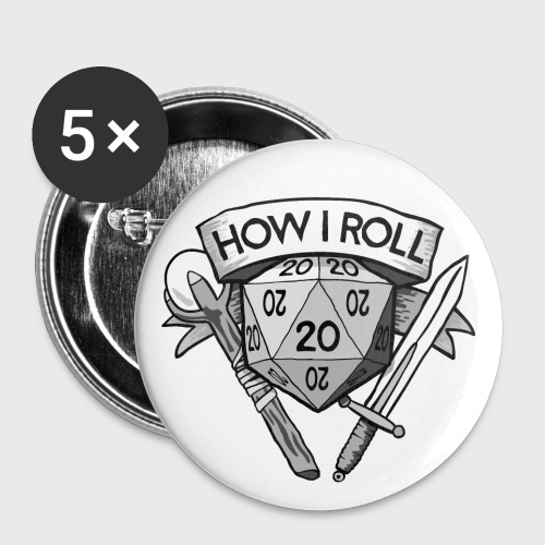 This Is How I Roll d20