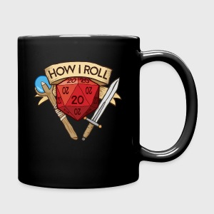 How I Roll D&D Dungeons & Dragons - Full Color Mug