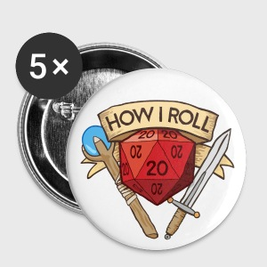 How I Roll D&D Dungeons & Dragons - Large Buttons