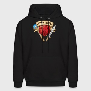 How I Roll D&D Dungeons & Dragons - Men's Hoodie