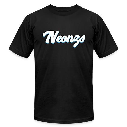 T-Shirt| Neonzs Design BLUE - Men's Fine Jersey T-Shirt