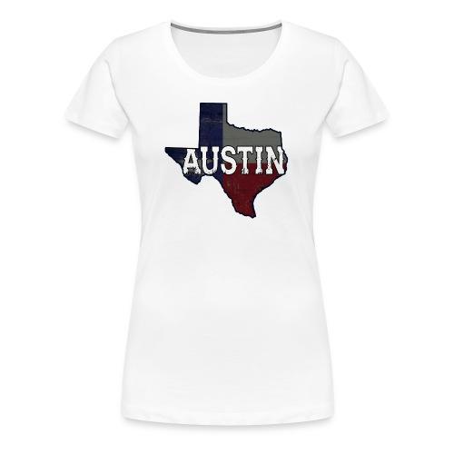 Austin Texas Woman's Shirt - Women's Premium T-Shirt