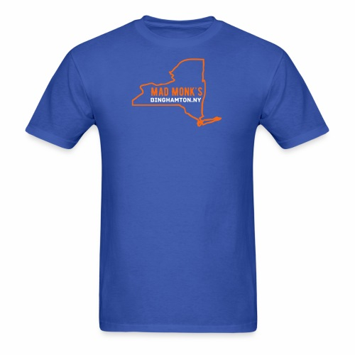 Mad Monks NY State T  - Men's T-Shirt